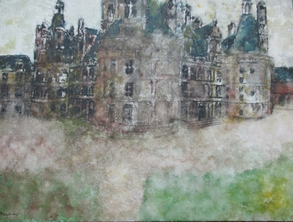 Chambord-watercolour-25x35cm
