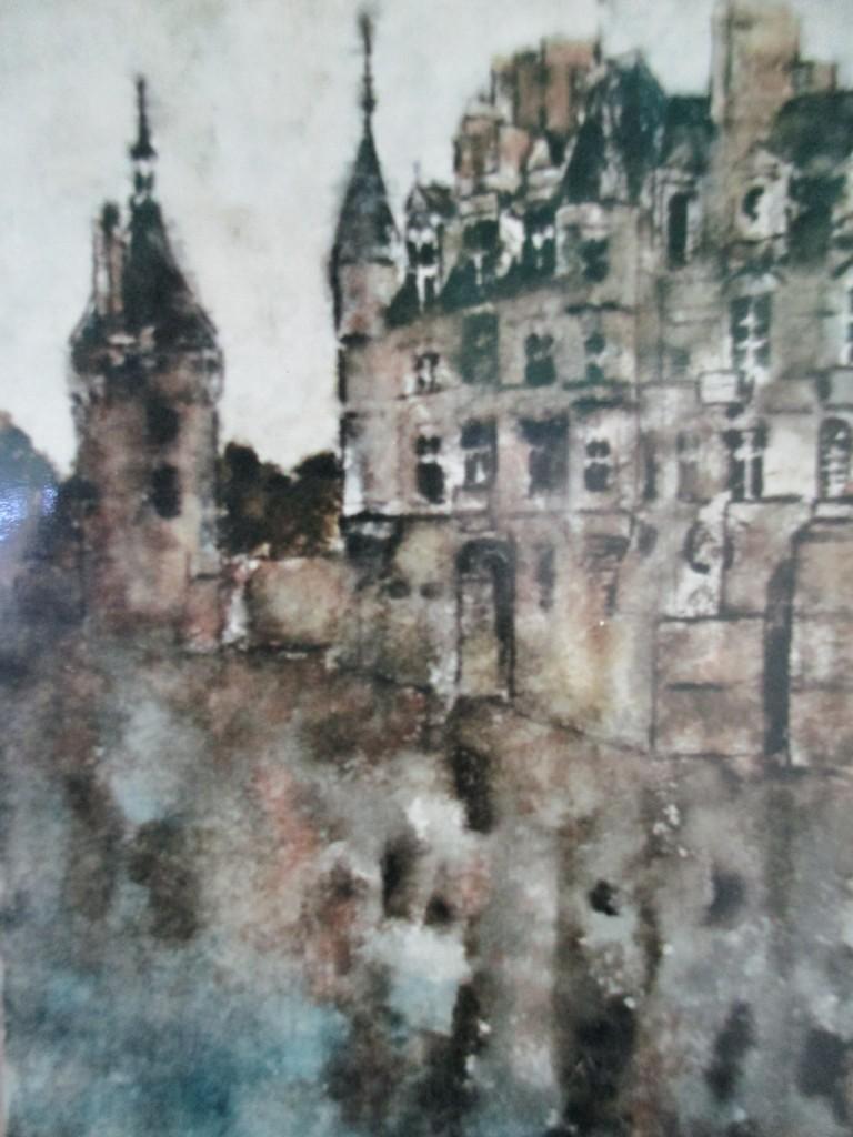 Chenonceau-watercolour-25x35cm