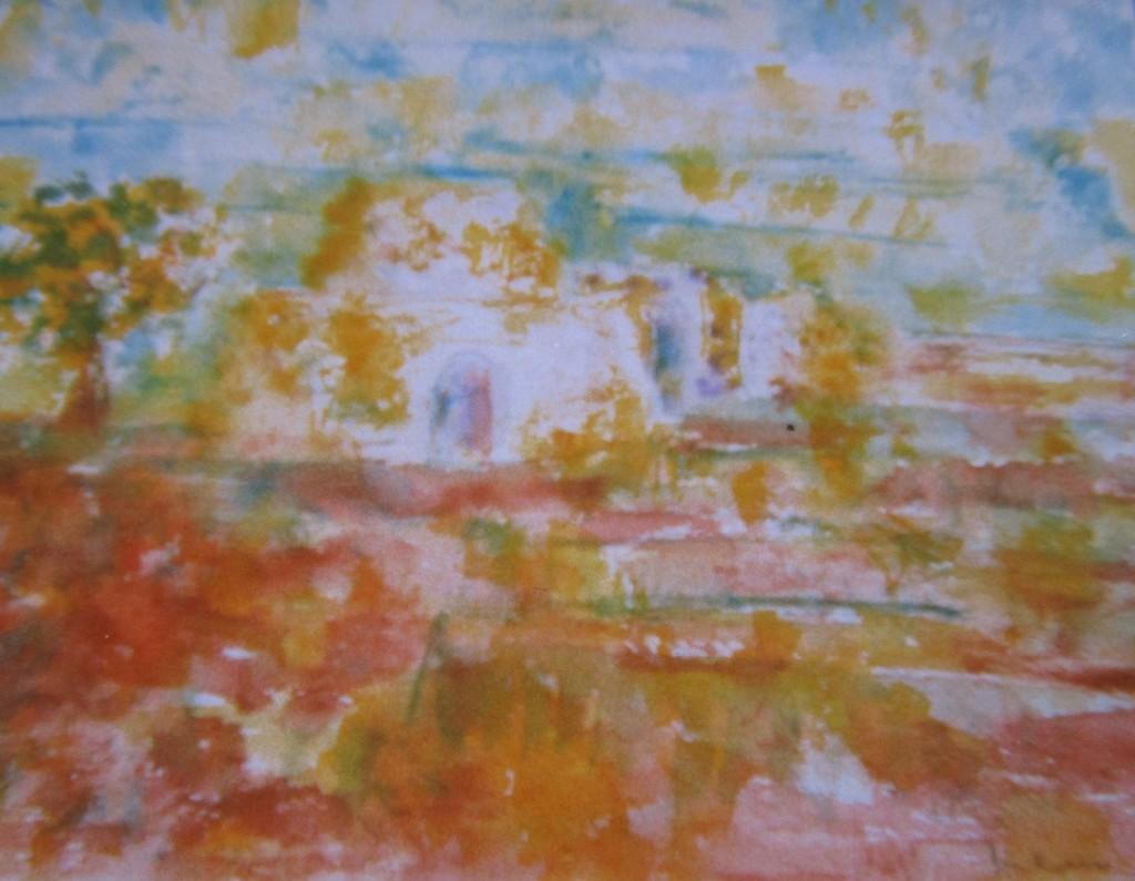 Pajara-watercolour-30x40cm