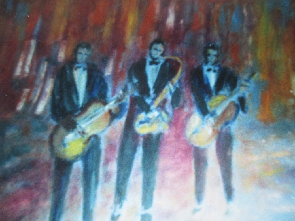 Band-oil on canvas-50x60cm