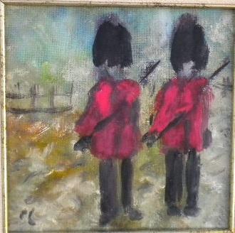 Sentries-gouache-15x20cm