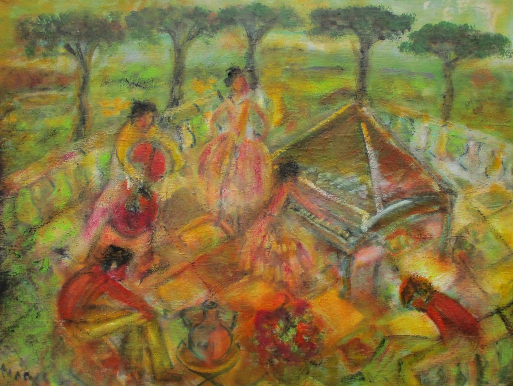 Band-Oil on canvas-60x80 cm