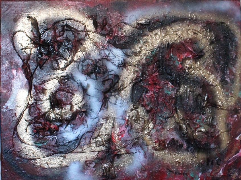 Adventure - mixed media on canvas - 60x80cm